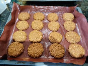 Delicious, easy oat cookies